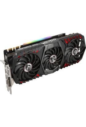 MSI GeForce GTX 1080 Ti Gaming X Trio 11GB 352 bit DDR5 DX(12) PCI-E 3.0 Ekran Kartı