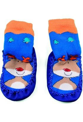 Kitty Deri Tabanlı Çorap