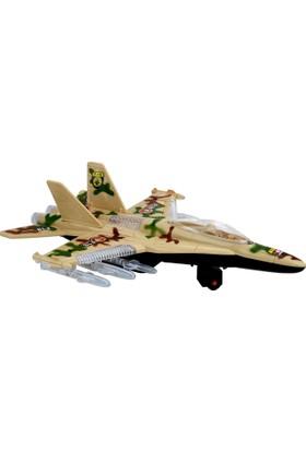 Power Hob Otomatik Direksiyon F18 Sesli Işıklı Oyuncak Savaş Uçağı