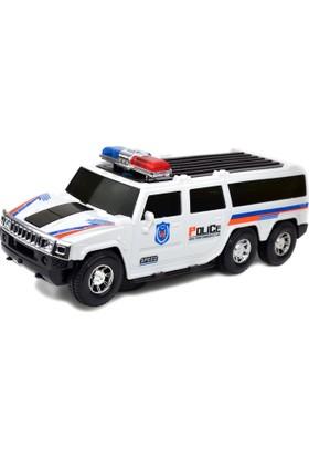 Power Hob Otomatik Direksiyon Süper Oyuncak Polis Arabası Işıklı Sesli