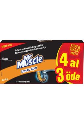 Mr Muscle Granül Lavabo Açıcı 4 Al 3 Öde