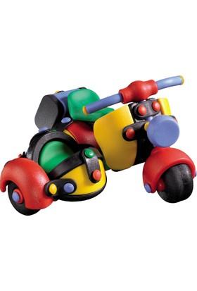 Micomic Sepetli Motosiklet 3D Yapboz Oyuncak