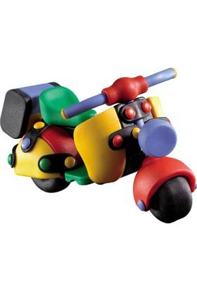 Micomic Motosiklet 3D Yapboz Oyuncak