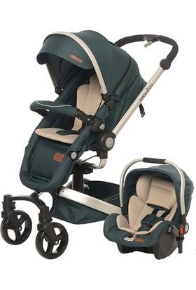 Baby2Go 80304 Volo Private Travel Sistem Bebek Arabası Yeşil