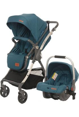 Baby2Go 8047 Future Travel Sistem Bebek Arabası Yeşil