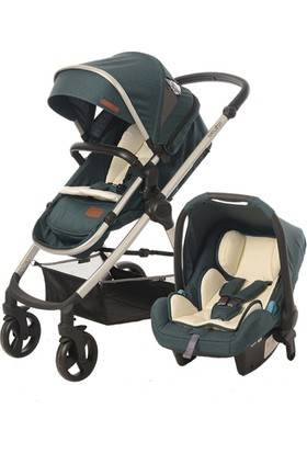 Baby2Go 8050 Viber Lx Travel Sistem Bebek Arabası Yeşil
