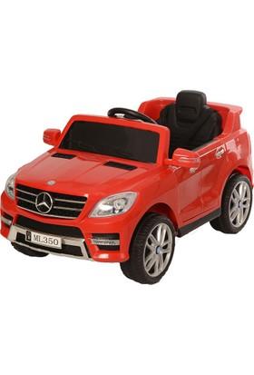 Baby2Go 8545 Mercedes ML350 Akülü Jeep Kırmızı