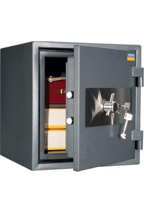 Valberg Garant 46 Anahtarlı Yangın ve Güvenlik Sertifikalı Çelik Kasa