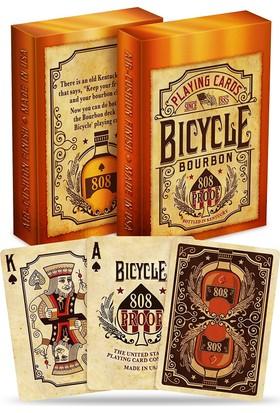 Pusula oyun Bicycle BOURBON Oyun Kartı Destesi (Orjinal Bicycle Koleksiyonluk Oyun Kağıdı)