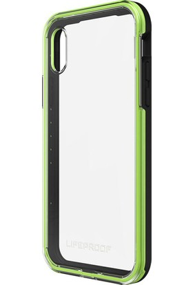 LifeProof Slam Apple iPhone X Kılıf Slam Night Flash Green
