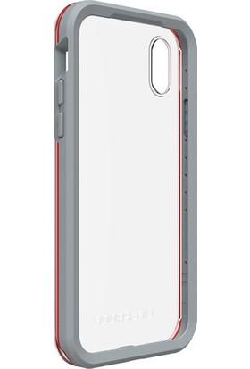 LifeProof Slam Apple iPhone X Kılıf Lava Chaser Red