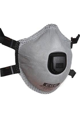 Ege 3021 V Aktif Karbon Kaynakçı Maskesi