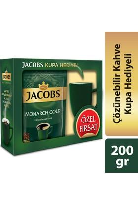 Jacobs Monarch Gold 200 gram Kupa Hediyeli !