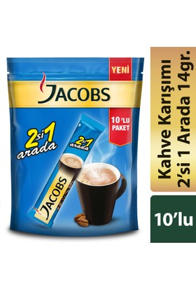 Jacobs 2si1 Arada 10'lu Paket