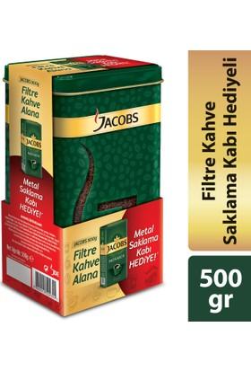 Jacobs Filtre Kahve 500 gr + Saklama Kabı