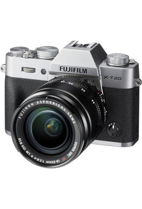 Fujifilm X-T20 Gümüş + XC 16-50mm F3.5-5.6 OIS II Siyah Kit ( Outlet )