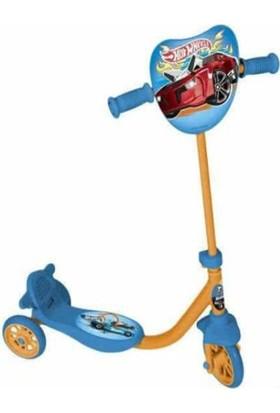 Hotwheels 3 Tekerlekli Frenli Erkek Çocuk Scooter