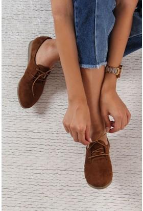 Shoes Time Kadın Ayakkabı Taba 17K 306