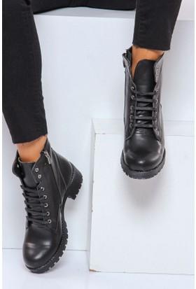 Shoes Time Kadın Bot Siyah 17K 218