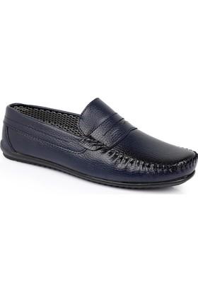 Muggo Men M04 Erkek Ayakkabı Lacivert