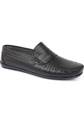Muggo Men M04 Erkek Ayakkabı Siyah