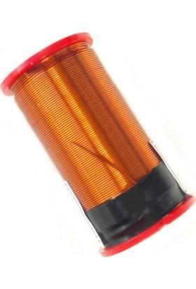 3 Adet 0.40mm X 50M Ece Emaye Kaplı Bakır Bobin Teli Özel Ece Makarada
