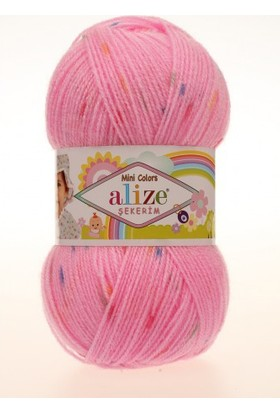 Alize Mini Colors Şekerim Örgü İpi