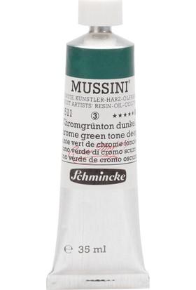 Schmincke Mussini Yağlı Boya 35ml. Seri 3 N:511 Chrome Green Hue Deep