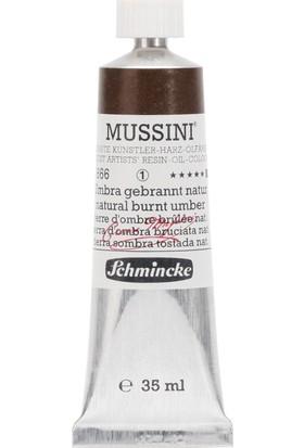 Schmincke Mussini Yağlı Boya 35ml. Seri 1 N:666 Natural Burnt Umber