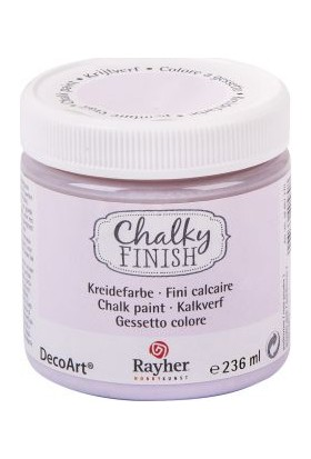 Chalky Finish Dekor Mobilya Boyası 236ml - Puderro