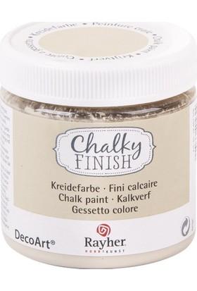 Chalky Finish Dekor Mobilya Boyası 236ml - Light Topas