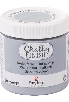 Chalky Finish Dekor Mobilya Boyası 236ml - Rock Grey