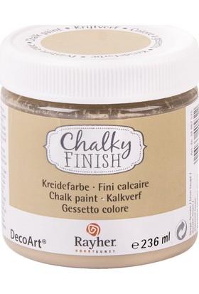 Chalky Finish Dekor Mobilya Boyası 236ml - T.Brown