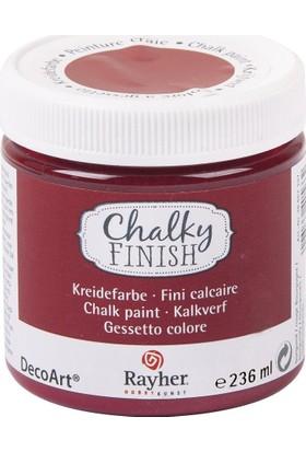 Chalky Finish Dekor Mobilya Boyası 236ml - Burgundy