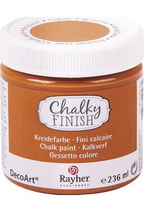 Chalky Finish Dekor Mobilya Boyası 236ml - Dark Orange