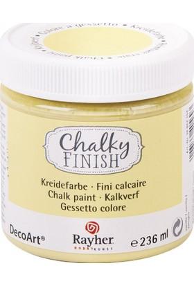 Chalky Finish Dekor Mobilya Boyası 236ml - Vanille