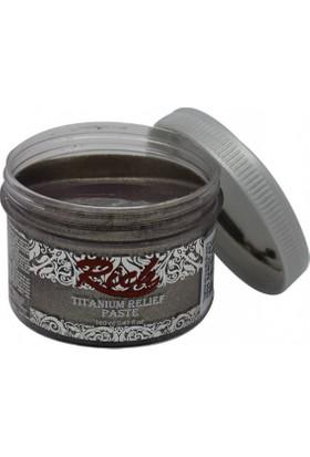 Rich Titanyum Metalik Rölyef Pasta N:5506 Barok Bej 160Cc