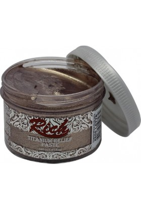 Rich Titanyum Metalik Rölyef Pasta N:5508 Latte 160Ml