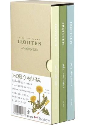 Tombow Irojiten Kuru Boya Kalem Seti 30'Lu Vol 1-2-3