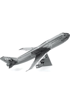 3D Boyutlu Lazer Kesim Maket Boeing 747 Uçak