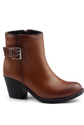 Tofima 9140 Taba Bayan Cilt Bot Ayakkabı