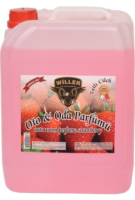 Willer Çilek Oto Kokusu (Strawberry Car Odor) 5 Kg