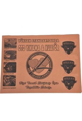 Willer Oto Kağıt Paspas Baskılı 100 Adet (50X35 Cm)