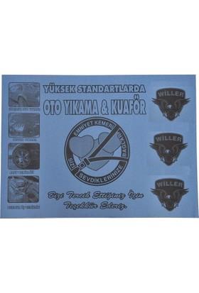 Willer Oto Kağıt Paspas Baskılı 500 Adet (35X50 Cm)
