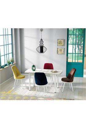 Kutup Home Masa Sandalye Takımı Açılır Masa Mins002