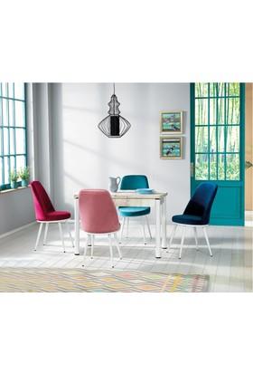 Kutup Home Masa Sandalye Takımı Açılır Masa