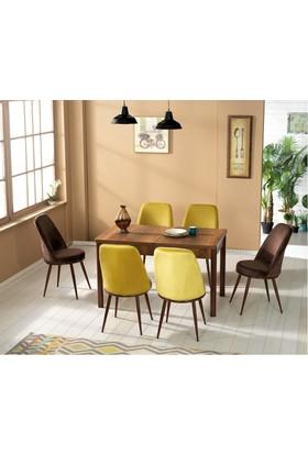 Kutup Home Masa Sandalye Takımı Açılır Masa Mins 005