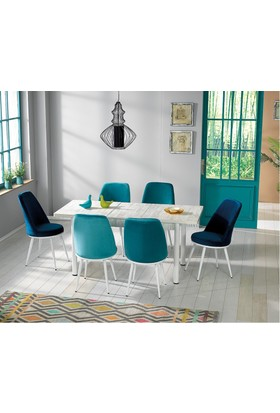 Kutup Home Masa Sandalye Takımı Açılır Kutup Home Masa Mins 007