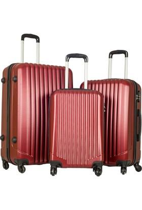 Escape Valiz Set Escabs2019-Valiz Set Bordo