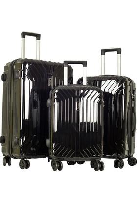 Pierre Cardin Valiz Set Pc5700-Set Siyah